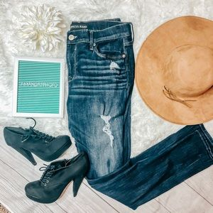 Express Jeans Leggings Mid Rise Size 12 Regular